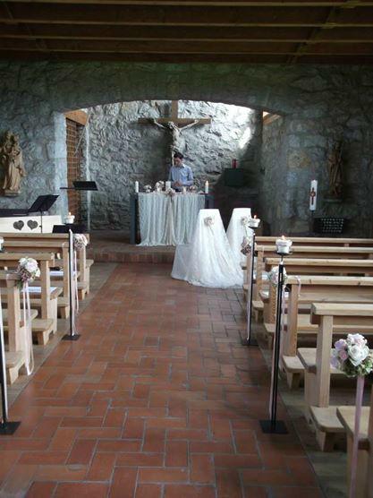 Zeremonie Kirche: mit Spitzen