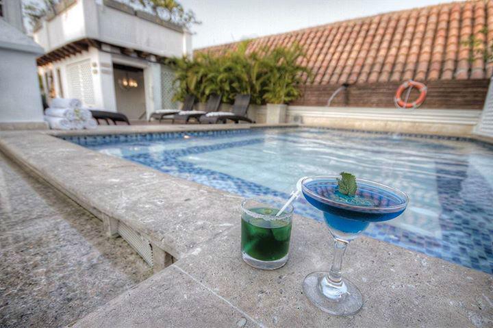 Nuestra piscina del tercer nivel