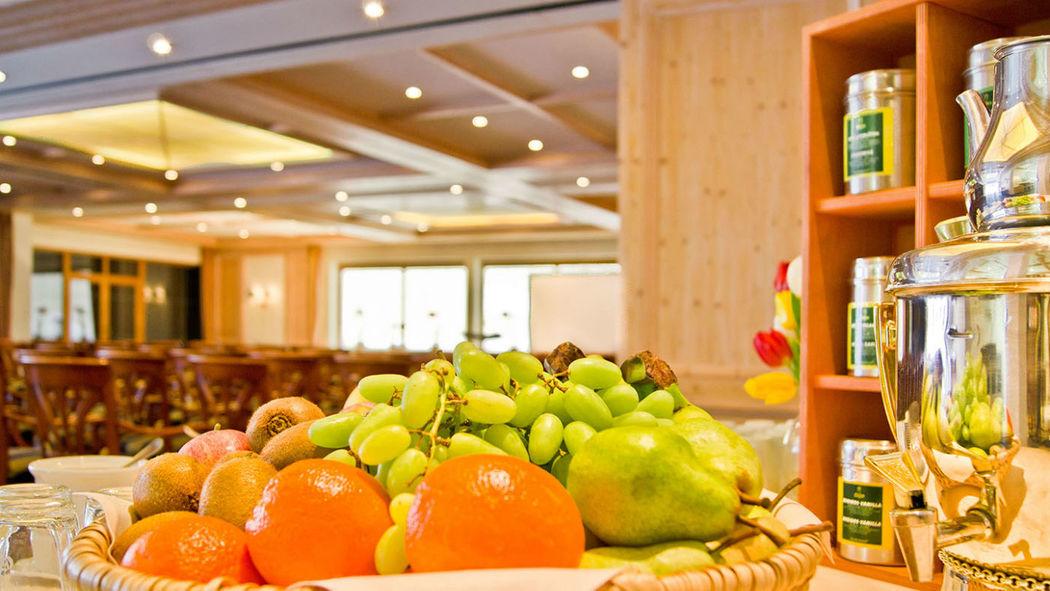 Beispiel: Buffet, Foto: Hotel Terrassenhof.