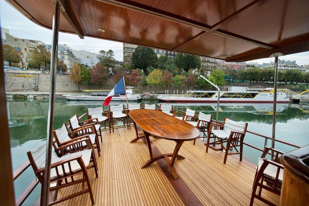 Yacht en Seine