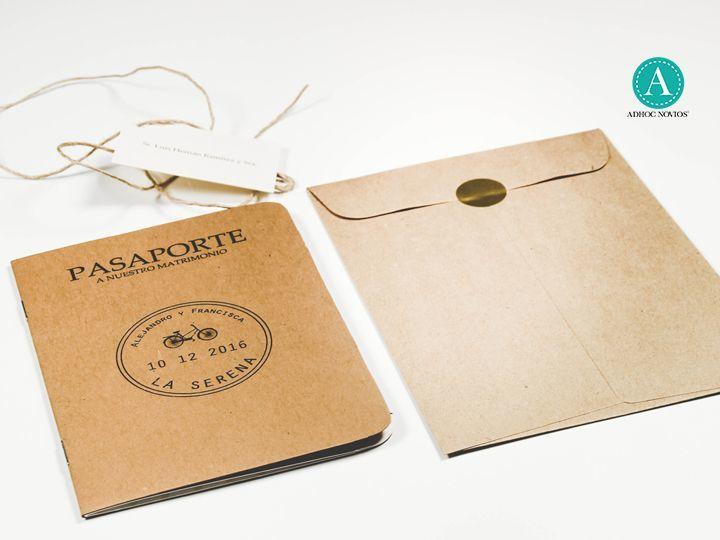 Pasaporte rústico