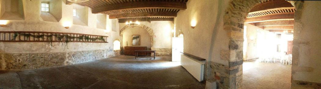 Le château de Varennes, intérieur