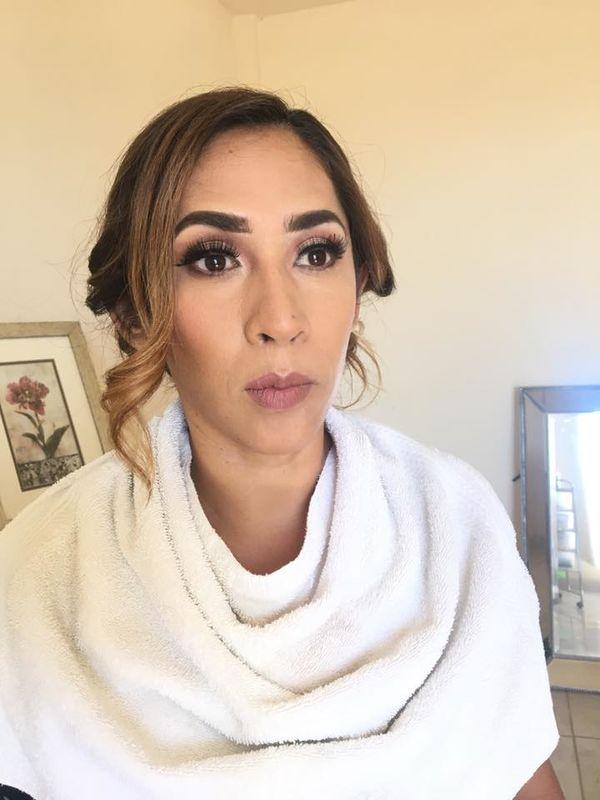 Dianna S. Makeup room