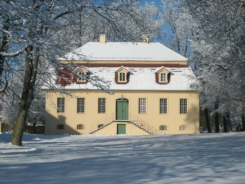 Beispiel: Schloss Lübbenau im Winter, Foto: Schloss Lübbenau.