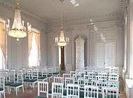Beispiel: Schlosssaal, Foto: Schloss Wildenfels.