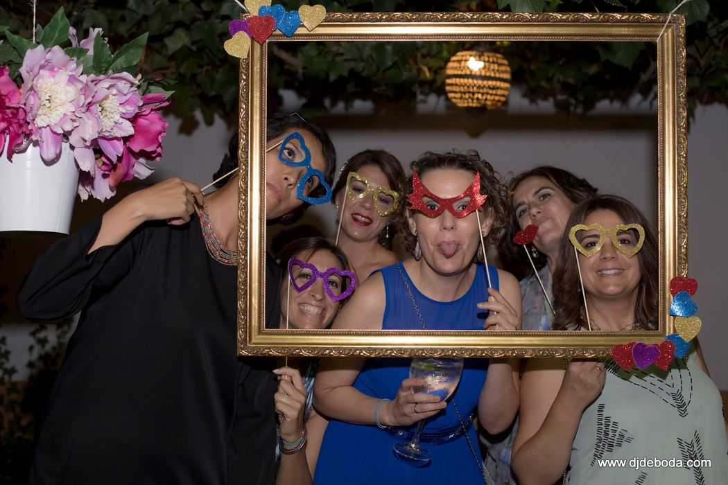 Photocall para bodas.