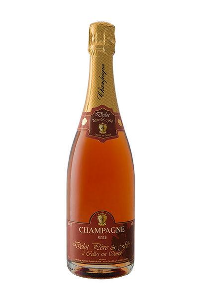 Brut Rosé 100% pinot noir. Champagne puissant mais délicat, aux arômes bien marqués de fruit rouges.