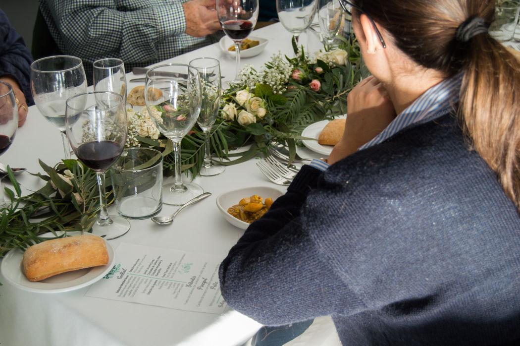Prueba menú de boda