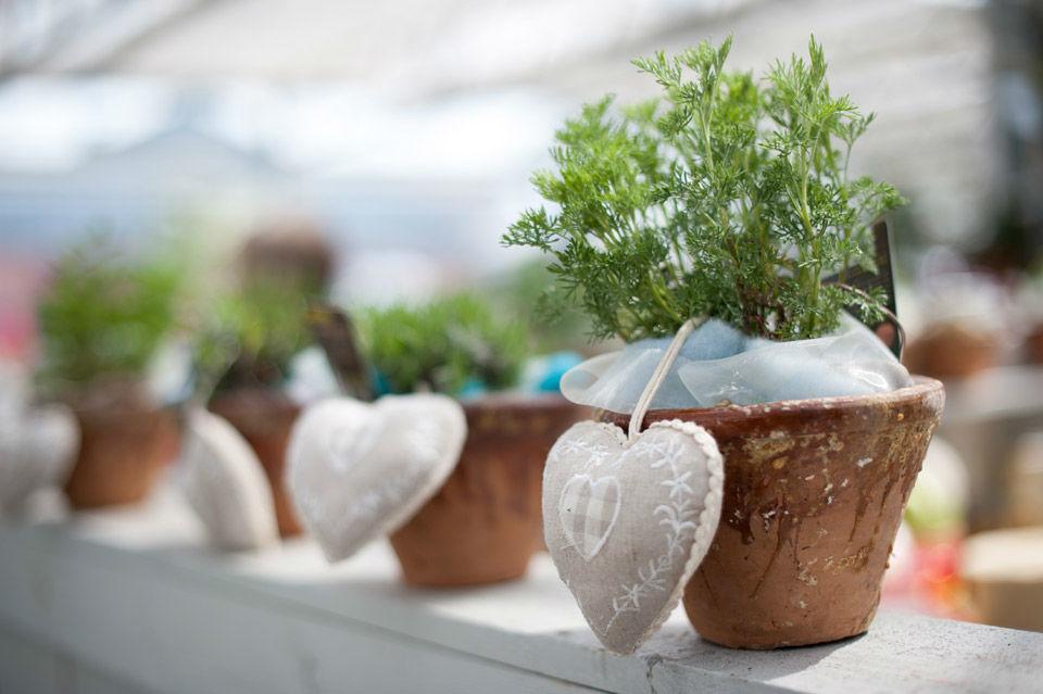 Beispiel: Tischdekoration, Foto: May Garden.