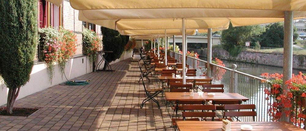 Beispiel: Terrasse, Foto: Ankerhof Hotel.