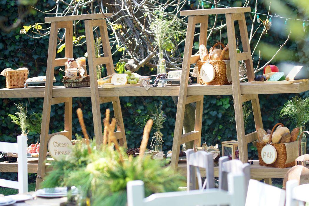 Mesas de quesos deliciosas y divinas!!!