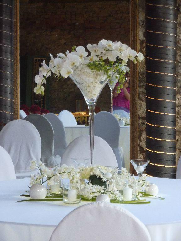 Beispiel: Hochzeitsdekoration mit Stil, Foto: Florastyle.
