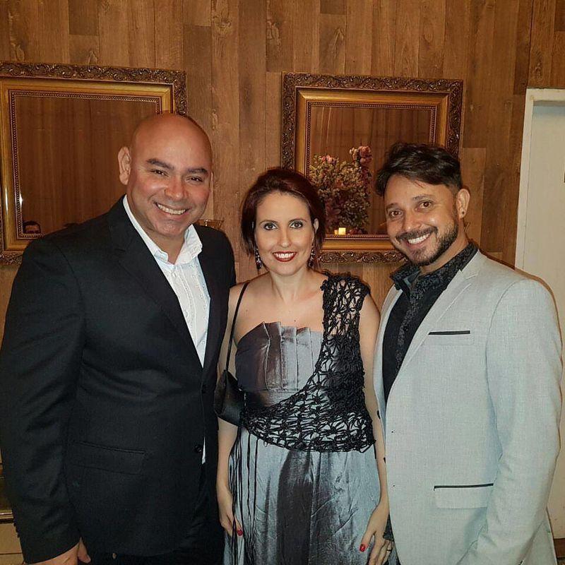 Parceria comercial com Willer (Jornal Noivas) e Ander Duarte (estilista da Atmo Ander)