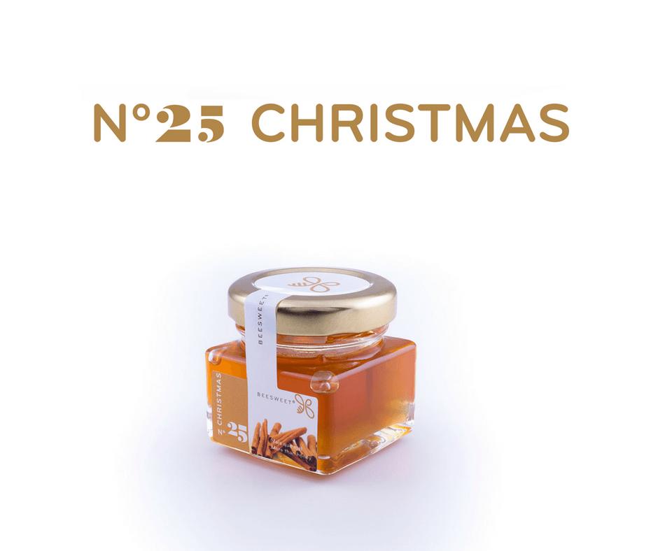 Requintado Frasco de 40gr de Mel aromatizado Beesweet - N. 25 Christmas - Sabor Canela