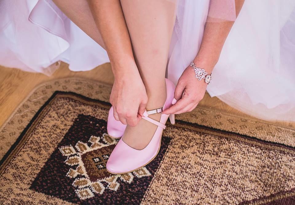 Casani buty zapinane weselne kolorowe www.casani.pl