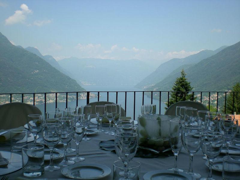 La vista sul lago di Como - Villa Nessi