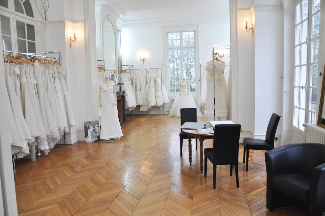 Le Show Room Mariée au Château Blanc Olivier Sinic