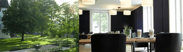 Beispiel: Gemütliches Ambiente, Foto: Schloss Binningen - Hotel im Schlosspark.