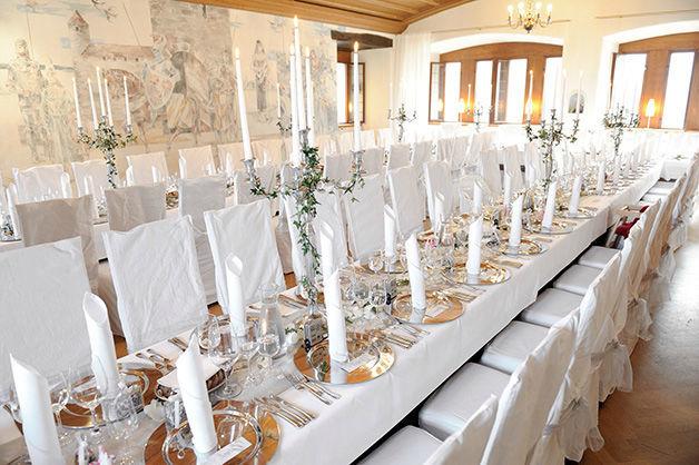 Beispiel: Kleiner Rittersaal, Foto: Schloss Rapperswil.