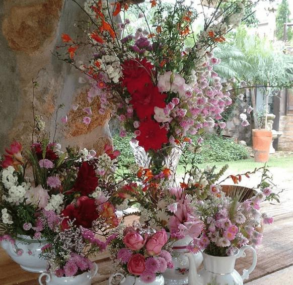 A Florista Monique Bourganos