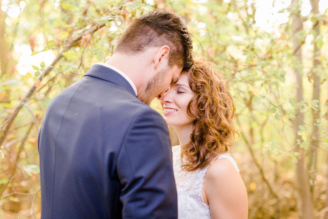 Wunderschöne Brautpaar-Portraits
