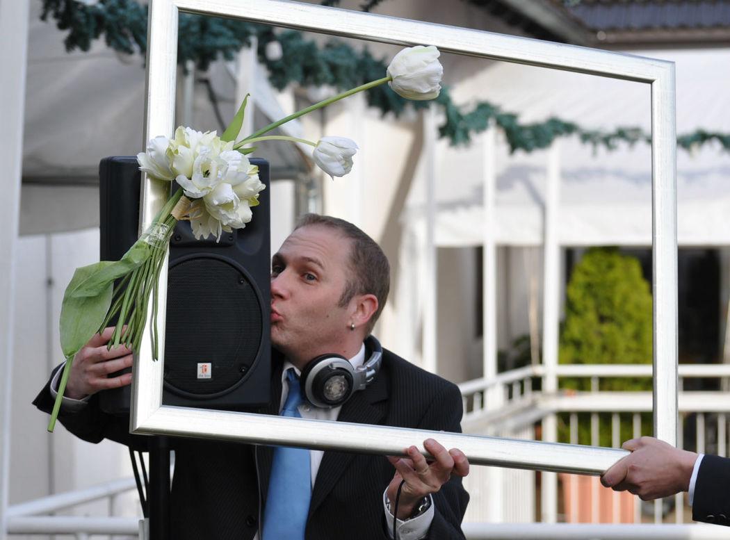 Beispiel: Auftritt, Foto: DJ Mark Kiss