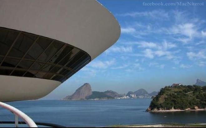 MAC - Museu de Arte Contemporânea de Niterói.