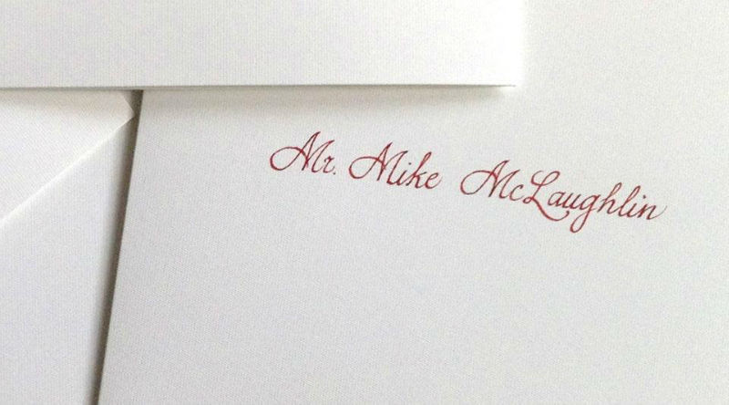 Caligrafía para tu boda
