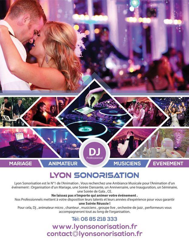 Flyer Lyon sonorisation