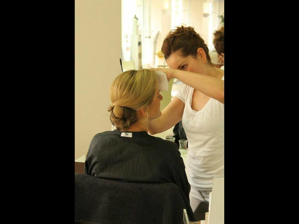 Beispiel: Brautstyling, Foto: Kosmetik Andrea Garburg.