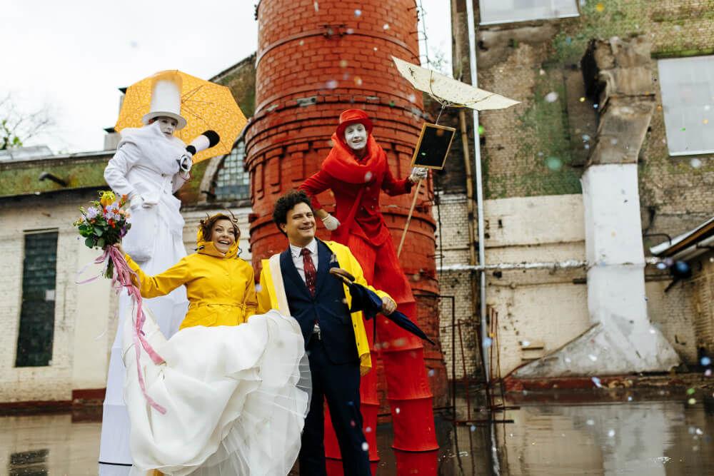 Свадебное агентство MarryMe Agency. Свадьба в  Лофте