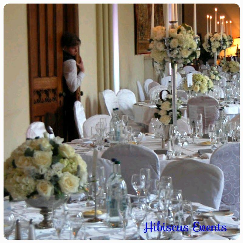 Centre de table chandeliers