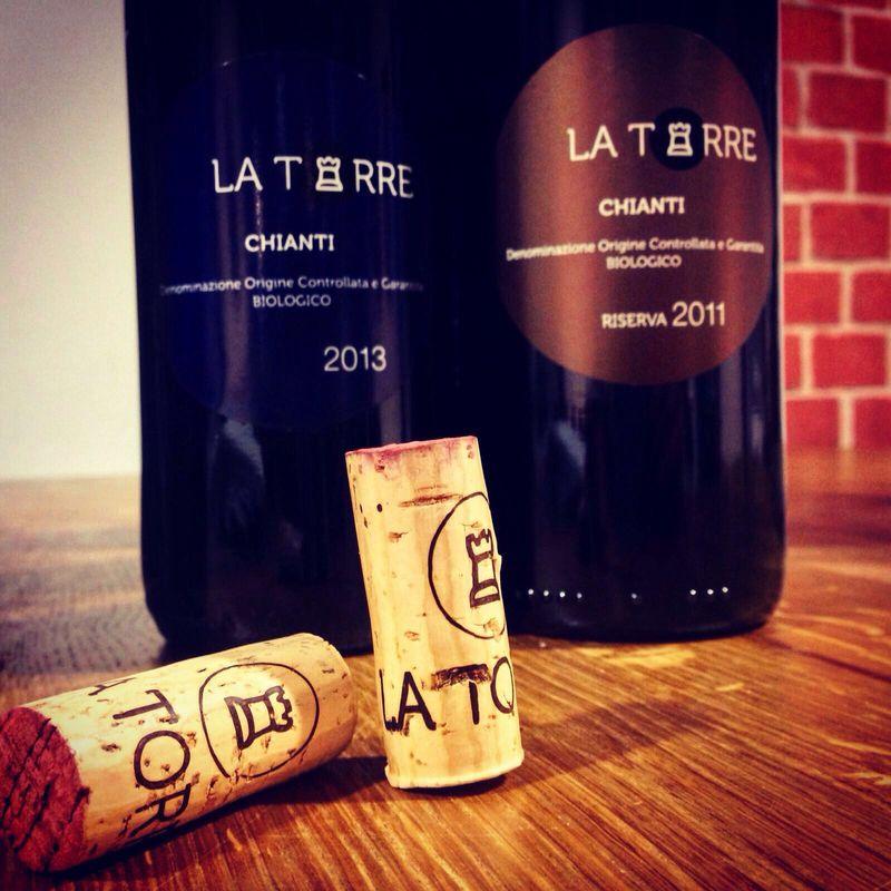 Słynne wina Chianti z Toskanii.