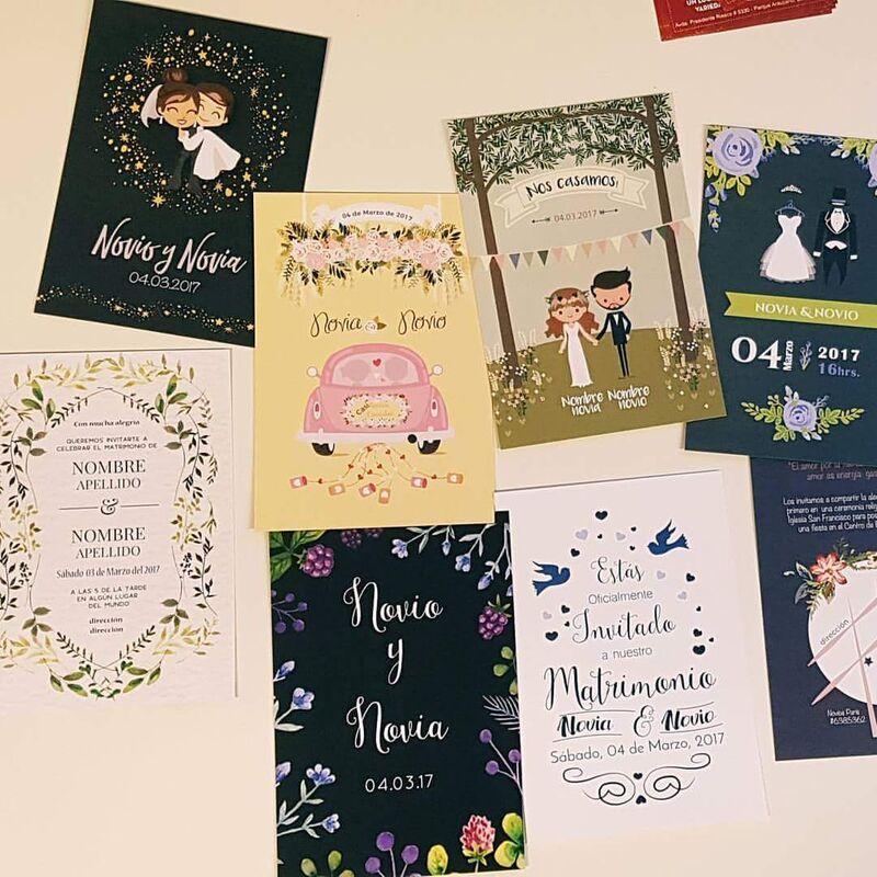 Partes Matrimonio personalizados