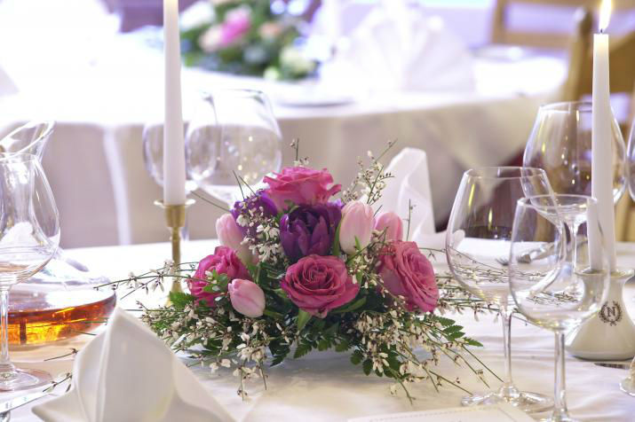 Beispiel: Blumen für Ihr Hochzeitsfest, Foto: Blumen Schuster.