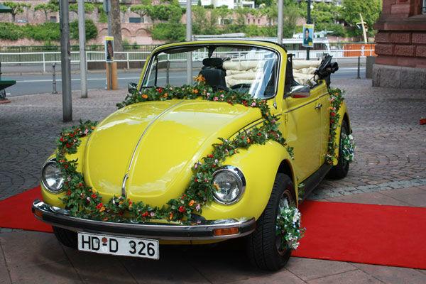 Beispiel: VW Käfer Cabrio, Foto: Oldie².