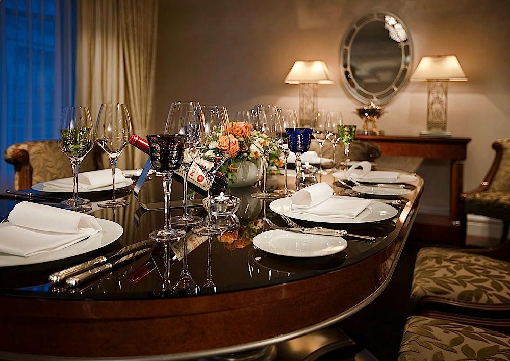 Beispiel: Diner, Foto: Breidenbacher Hof.