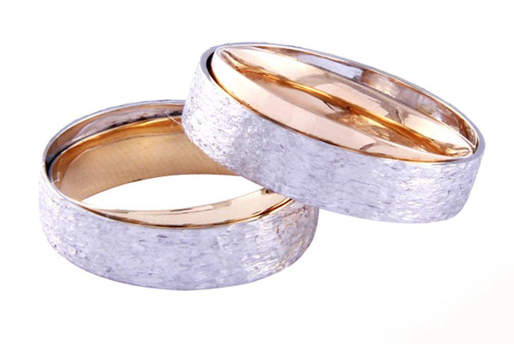 Alianças Casamento Bicolores ALBIC135BT