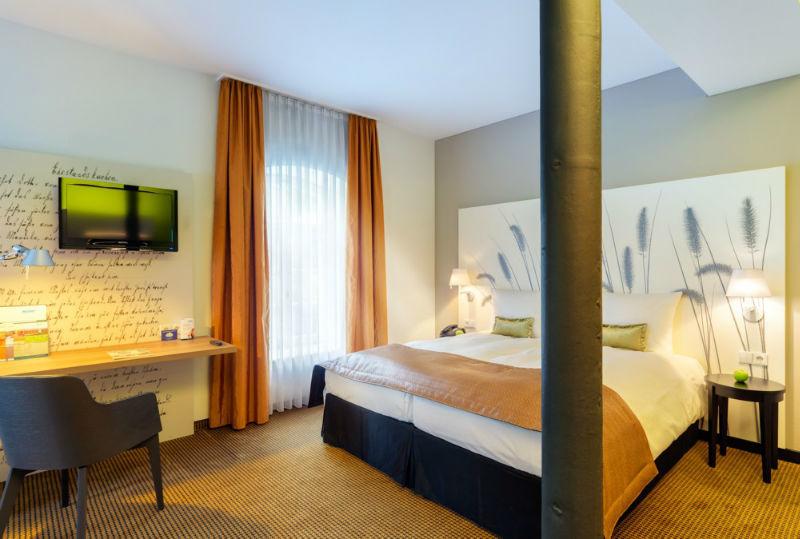Beispiel: Doppelzimmer, Foto: Nestor Hotels.