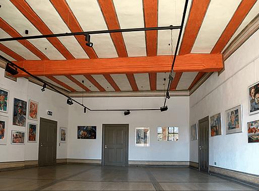Beispiel: Foyer, Foto: Renaissanceschloss Ponitz.