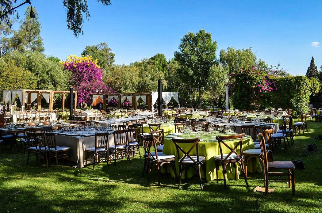 Jardín Chapultepec