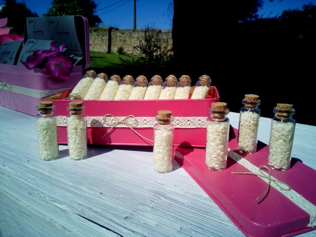 Botes de Arroz Ceremonia RetroCaravan El Botón Rosa