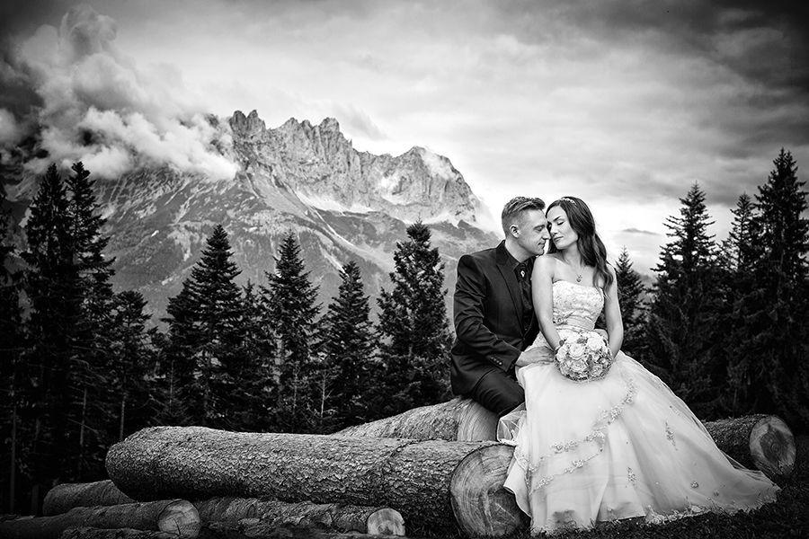 Romantische Hochzeitsfotos in Tirol - RAMAN-PHOTOS