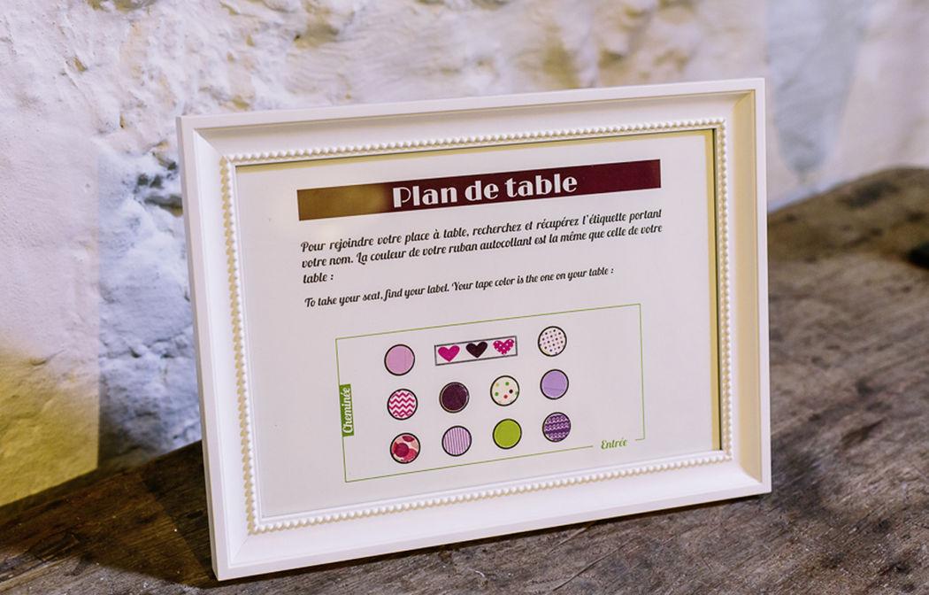 Affichette Thème vin Mademoiselle Créa