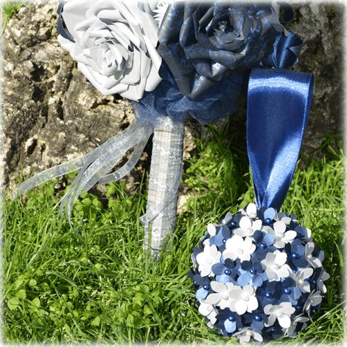 Ramo de novia Blue Glam