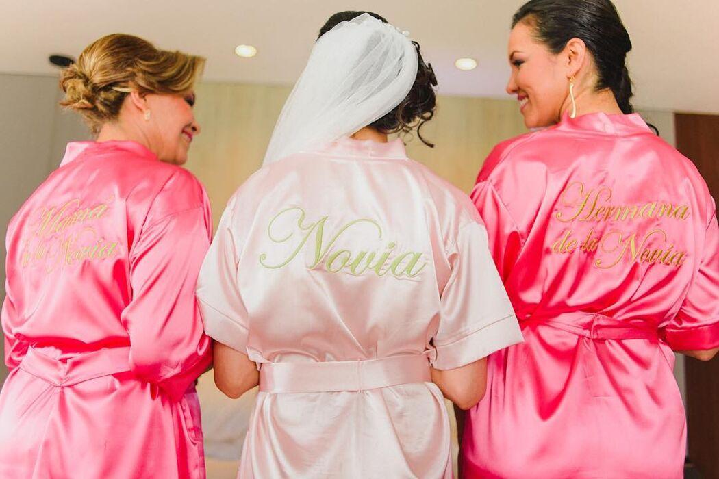 La boda en rosa