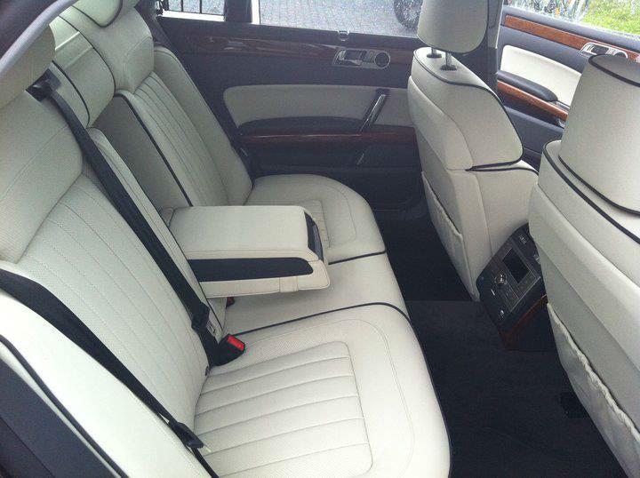 Beispiel: Interieur, Foto: G&P Limousinenservice.