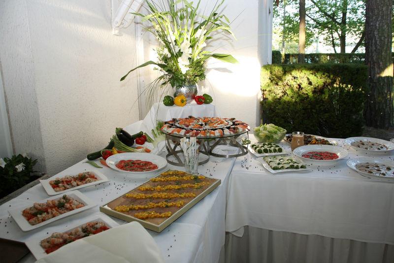 Beispiel: Buffet, Foto: Lucia Sposa.