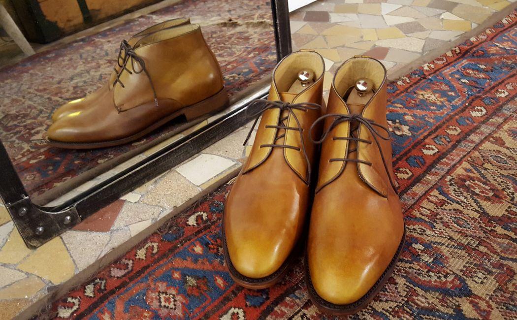 Le chukka Shoe Up - patine marron clair
