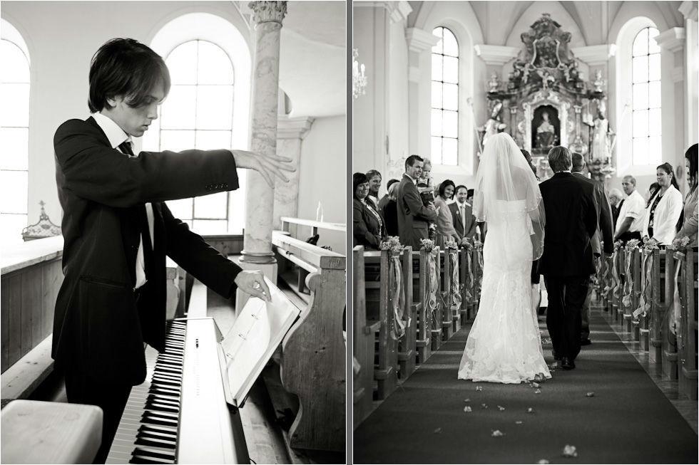Beispiel: Professionelle Hochzeitsfotografie, Foto: Nina Hintringer Photography.